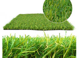 lush, green and soft fake grass for garden - Price Match Promise