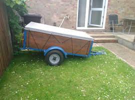 5ft x3ft garden or camping trailer.