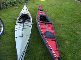 Folding kayak feathercraft Khatsalano