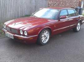 1998 Jaguar XJ8 in burgundy