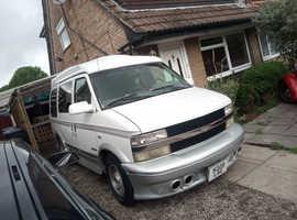Swap / sell, Chevrolet Astro, 1996,White MPV, 87,000 miles