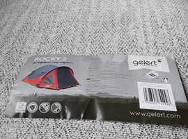 Gelert 2 person tent & assorted camping/ picnic items
