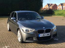 BMW 1 series, 2014 (64) Grey Hatchback, Automatic Diesel, 50,200 miles