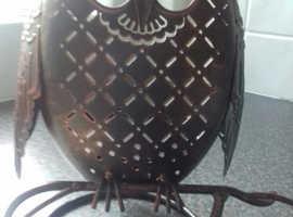 PartyLite Jar Holder - Rustic Owl