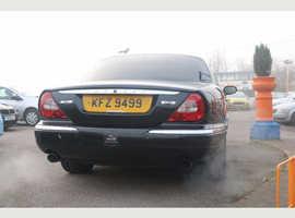Jaguar Xj, 2007 (07) Black Saloon, Automatic Diesel, 79,000 miles