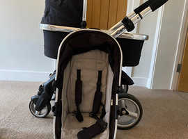 iCandy Peach Pushchair with Carry cot and Footmuff