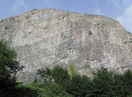 Uphill Quarry Abseil