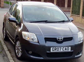 Toyota Auris, 2007 (07) Grey Hatchback, Manual Diesel, 106,000 miles