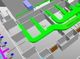 MEP / HVAC BIM Modeling Services - Building Information Modelling