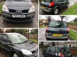 Renault Scenic 2007 (57) Grey MPV, Manual Petrol, 100,000 miles