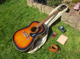 framus vintage acoustic guitar 1960,s