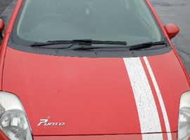 Fiat Grande Punto, 2008 (08) Red Hatchback, Manual Petrol, 92,340 miles