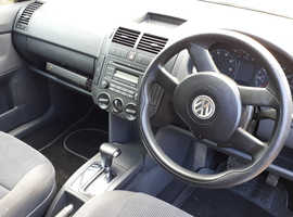 Volkswagen Polo, 2006 (56) Silver Hatchback, Automatic Petrol, 100,300 miles
