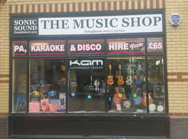 Sonic Sound ( The Music Shop )