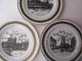 3 x Harrogate plates (depicting 3 sites) Ltd Edition series
