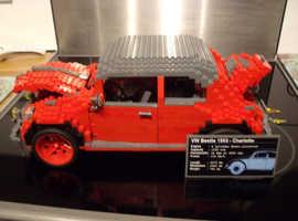 custom built lego beetle