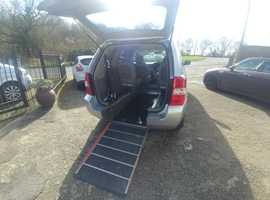 Kia Sedona Jubilee Mobility Wheelchair Access WAV only 42000 miles, 4 seats, offers welcome or swap px cash either way