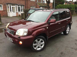 NISSAN X TRAIL DCI AVENTURA 95000 MILES FULL SERVICE HISTORY 10 STAMPS 2 OWNERS