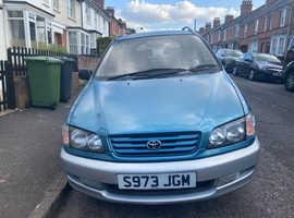 Toyota Picnic, 1998 (S) Blue Estate, Automatic Petrol, 113,008 miles