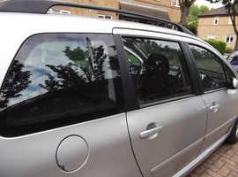 Peugeot 307, 2004 (04) Silver Estate, Automatic Petrol, 99,999 miles