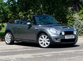 Mini MINI COOPER S, 2009 (09) Grey Convertible, Manual Petrol, 76,638 miles, LONG MOT APRIL 2021