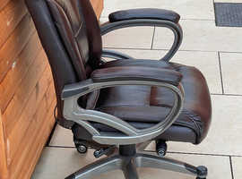 Leather Look computer chair