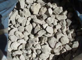 Decorative weathered buff natural stone.