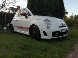 Abarth 500, 2009 (09) White Hatchback, Manual Petrol, 85,500 miles