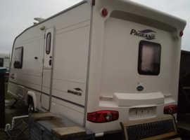 Bailey Pageant Monarch touring caravan
