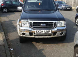 Ford ranger 04 plate 8 month not NO LOG BOOK as it is in the house but can't find