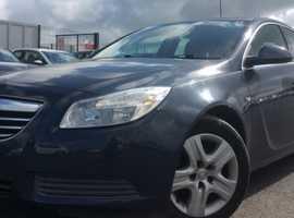 Vauxhall Insignia, 2011 (11) Blue Hatchback, Manual Diesel, 135,000 miles