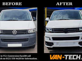 VW T5 to T5.1 Transporter Front End conversion parts