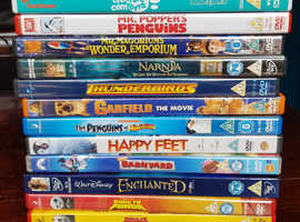 Children's DVD selection