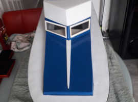 Cruiser type model boat