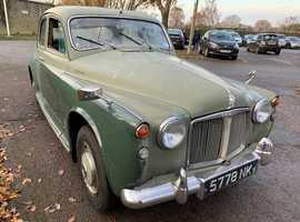 rover 100 1960 with turbo diesel engine fitted