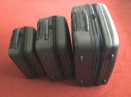 California set of luggage.