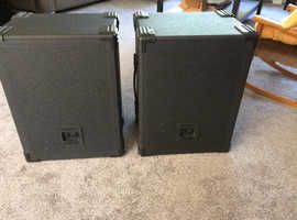 100W Disco Passive Speakers 10 inch with Stands