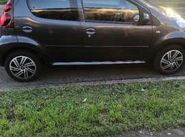 Peugeot 107, 2013 (13) Grey Hatchback, Semi auto Petrol, 70,711 miles
