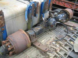 "BPW 10 Stud Trailer Axles - Will Take 15""-17.5"" - 19.5"" Wheels"