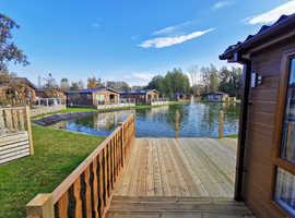 Lakeland Bespoke Lodge Waterfront Twin Unit Cottage Static Lake District