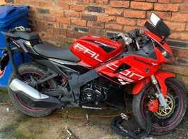LEXMOTO FALCON 125 XGJ 125-27B MOTORBIKE / Motorcycle 125CC 2018 PLATE