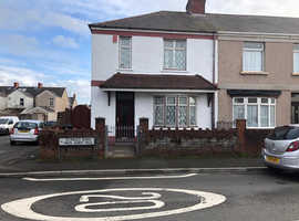 St Paul's Road ,Port Talbot ,for sale traditional end of terrace house ideal for families or first time buyers