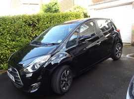 Hyundai Ix20 SE Nav, 2017 (67), Black MPV, Manual Petrol, only 7,200 miles £10,995