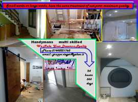 Handyman my   full services in the construction of homes and public spaces are always at your disposal