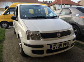 Fiat Panda, 2009 (09) White Hatchback, Manual Petrol, 64,400 miles