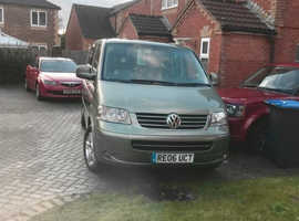 Volkswagen Caravelle, 2006 (06) Green MPV, Automatic Diesel, 76,500 miles