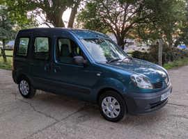 Renault Kangoo, 2008 (58) Blue MPV, Manual Petrol, 61,323 miles