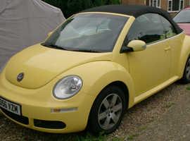 Volkswagen Beetle Convertible Yellow 1.6 2006 Luna 2006 '56 Reg