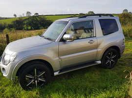 Mitsubishi Shogun, 2015 (64) Silver 4x4, Automatic Diesel, 18,000 miles