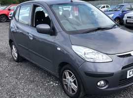Hyundai i10, 2009 (59) Grey Hatchback, Manual Petrol, 72,088 miles FINANCE OPTIONS ON THIS CAR